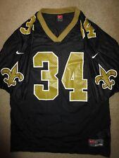5c5832fb0 Ricky Williams  34 New Orleans Saints NFL Nike Jersey LG L Rookie