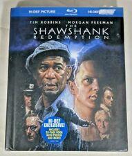 The Shawshank Redemption (Blu-ray Disc, 2008, Collectors Bonus Book) Free Ship!