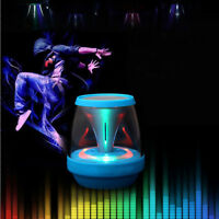 1X Mini Portable LED Bluetooth Speaker Wireless Bass For Smartphone Tablet PC