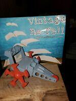 VINTAGE ELDON BILLY BLASTOFF SPACE MOON WALKER CRAWLER  TOY JAPAN 1969 VEHICLE