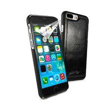 Alston Craig Leder Ersatz Magnet Hülle für iPhone 7 Plus/8 Plus-schwarz