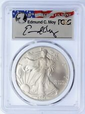 2006-W $1 Burnished Silver Eagle SP70 PCGS ED MOY signed LOW POP