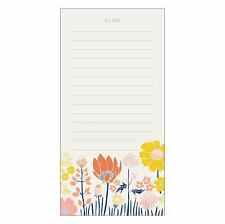 Meadowfield List Pad by Galison Publishing Staff (2016, Novelty Book)