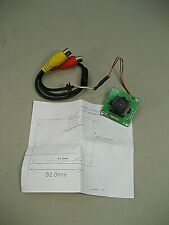 Supercircuits CCD Black/White Mini Pinhole Camera PC300XP