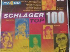 SCHLAGER TOP 100 (4 CD - Arcade - 1998)  Heino, Roland Kaiser, Costa Cordalis..