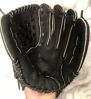 "Rawlings Size 12.25"" 12 1/4 Right Handed Thrower Black Baseball Glove - RBG22BCB"