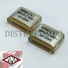 Condensateur MP3-X1 100NF 300VAC 28x10x22mm RM22.5 Wima (lot de 2)