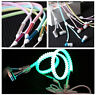 Glowing Light Headphones Earphones Headset Luminous zipper In-Ear headphone CIT