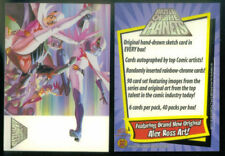 "2002 DYNAMIC FORCES ""BATTLE of the PLANETS"" PROMO TRADING CARD- V/GOOD CONDITION"