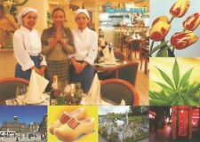 ROYAL THAI RESTAURANT; AMSTERDAM; tulips, clogs, red light district etc  *pk