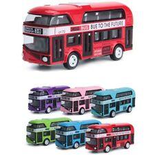 1:43 Car Model Double-decker Bus London Alloy Diecast Vehicle Toys Kids Gift