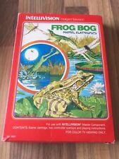 Intellivision:     FROG BOG