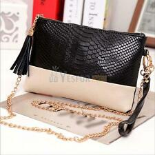 Women Handbag Shoulder Bags Tote Purse Chain PU Leather Messenger Cross Boy Bags