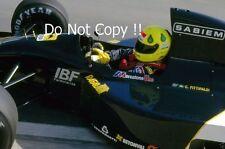 Christian Fittipaldi Minardi M192 F1 saison 1992 Photographie 1