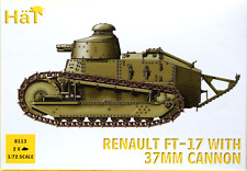 Hat 8113 - Renault FT-17 with 37mm Cannon - 1:72