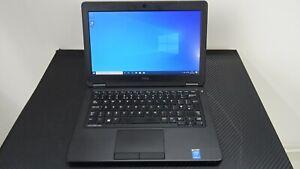 Dell Latitude E5250 laptop, Intel core i3 CPU, 4GB RAM, 128GB SSD, Win 10, WiFi