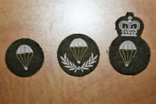 Cdn Army Trade Badges - PARACHUTE RIGGER - Group 1,2,3