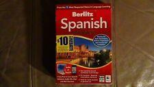Berlitz Spanish Premier Language Learning Software Windows Mac