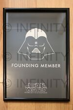 """STAR WARS: """"Founding Member"""" RARE one-of-a-kind """"Force For Change"""" poster!!"""
