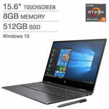 """HP Envy x360 FHD IPS Touch 15.6"""" Laptop: Ryzen 5 4500U, 512GB SSD, 8GB DDR4 Pen"""