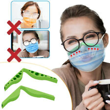#Accessories For Masks Prevent Eye Glasses  Fogging Anti Fog Silicone Nose Bridg