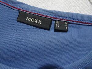 MENS BLUE COTTON MEXX TSHIRT