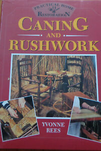 Caning and Rushwork by Yvonne Rees (Hardback, 1993)