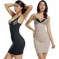 Señoras sin costuras Full Body Shaper Tummy Control De Corsé Faja Shapewear Bodysuit