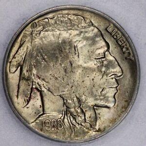 1928-D 1928 Buffalo Nickel ICG-MS63