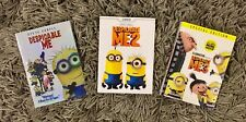 Despicable Me 1, 2, and 3 Trilogy 3-DVD Bundle Set (BRAND NEW)