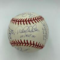 Derek Jeter & Mariano Rivera Yankees World Series MVP's Signed Baseball Steiner