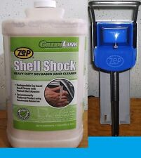 ZEP SHELL SHOCK HAND CLEANER 4 GALLON CASE + ZEP® D4000 DISPENSER WITH FREE SHIP