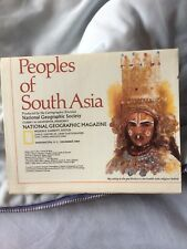 National Geographic Map of Peoples of South Asia. (December, 1984).