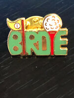 Vintage Collectible Birdie Golf Colorful Metal Pin Back Lapel Pin Hat Pin