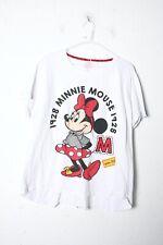 Donna Nuovo di Zecca Primark Disney Minnie Mouse Pigiama A Righe Frilly