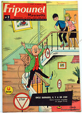 Fripounet Marisette Coeurs Vaillants  N° 23  du  6 JUIN  1963 bon etat