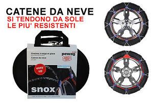 CATENE DA NEVE AUTO - PEWAG SNOX SX 530 - PROFESSIONALI SI TENDONO DA SOLE