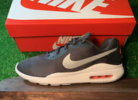 Nike Men's Air Max Oketo AQ2235-012 Grey Orange White Running Shoe Brand New WB