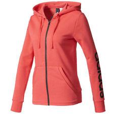 Adidas Essential Womens Full-Zip Hoodie b47313 size M orange hoodie
