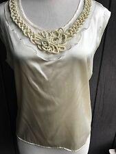 Liliana Castellanos silk blouse Size 12
