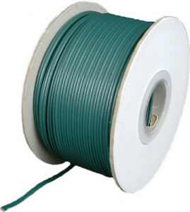Green SPT1 Wire Extension Cord Wire AWG 18 Gauge Zip Cord 100'