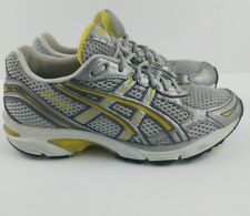 Asics Gel-1120 Running Training Shoes Silver Yellow Women's Size 6.5