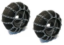 2 Link TIRE CHAINS & TENSIONERS 20x10x8 for Simplicty Lawn Mower Garden Tractor