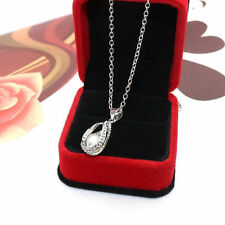 Water Drop Locket Pearl Necklace Pendant Freshwater Cultured Oyster Necklace