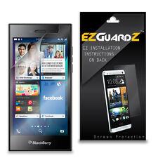 3X EZguardz LCD Screen Protector Skin HD 3X For Blackberry Leap (Ultra Clear)