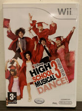 HIGH SCHOOL MUSICAL 3 DANCE BOXED COMPLETE  NINTENDO WII GAME