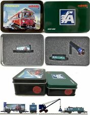 MARKLIN Z SCALE  98141 & 80920 2 Collector Freight Cars -C10 Original METAL TINS