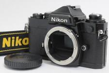 [Excellent+++++] Nikon FE Black 35mm SLR Camera Body From JAPAN #236