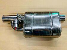 "UNIVERSAL 3"" Muffler w/ Throttle Electrical Remote Wireless Valve Control Kit"