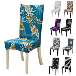 Stretch Dining Chair Covers Spandex Slipcovers Wedding Room Banquet Seat Cover